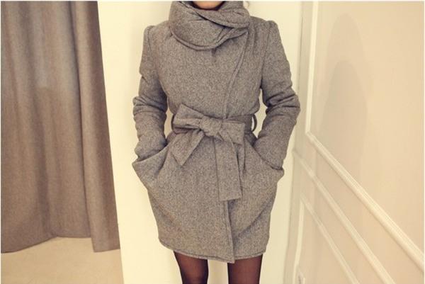 Kết hợp áo khoác vừa ấm, vừa sang cho phái đẹp công sở 16