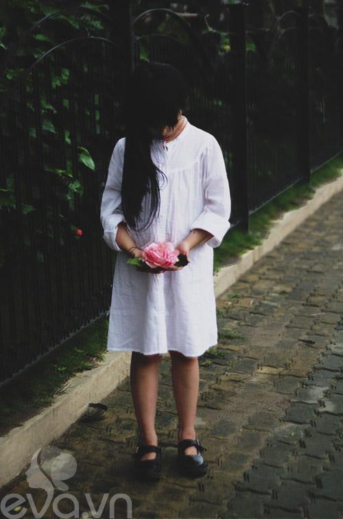 Cô bé lớp 7 có hình trên tạp chí Vogue Ý - 20