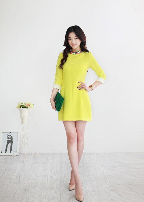 Guu thời trang tone vàng chanh mát lạnh ngày hè