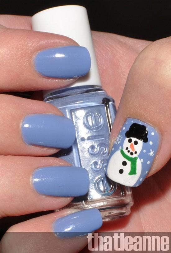 22 kiểu nail tuyệt đẹp lấy cảm hứng từ mùa đông