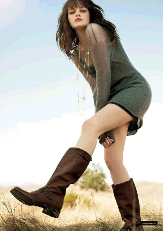 Emma Stone - Nét gợi cảm đằng sau vẻ trong sáng 10