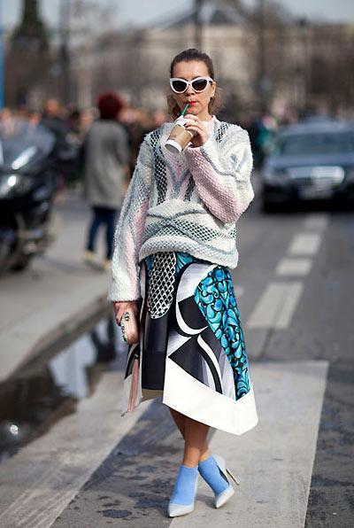 Style đường phố sành điệu ở Paris