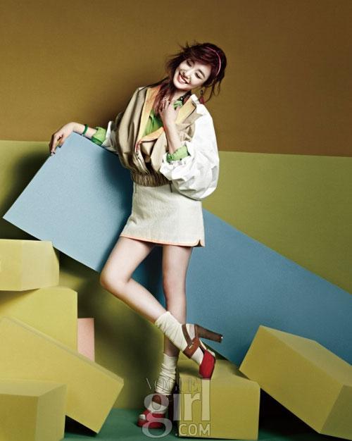 Ngắm guu Tiffany ngọt ngào và cá tính trên bìa tạp chí