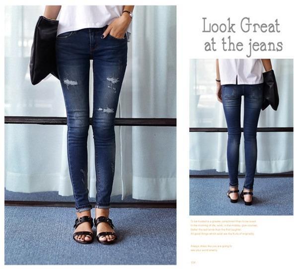 Tips chọn và mix quần jeans đúng trend cho mùa thu 6