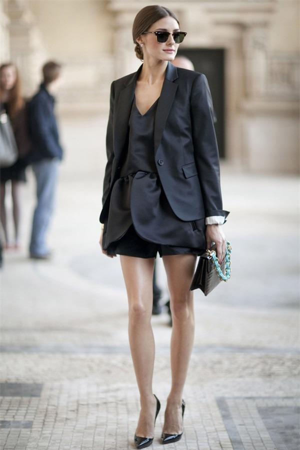 Biến hoá 1 chiếc váy đen theo 4 hoàn cảnh cho mùa Thu/Đông 7