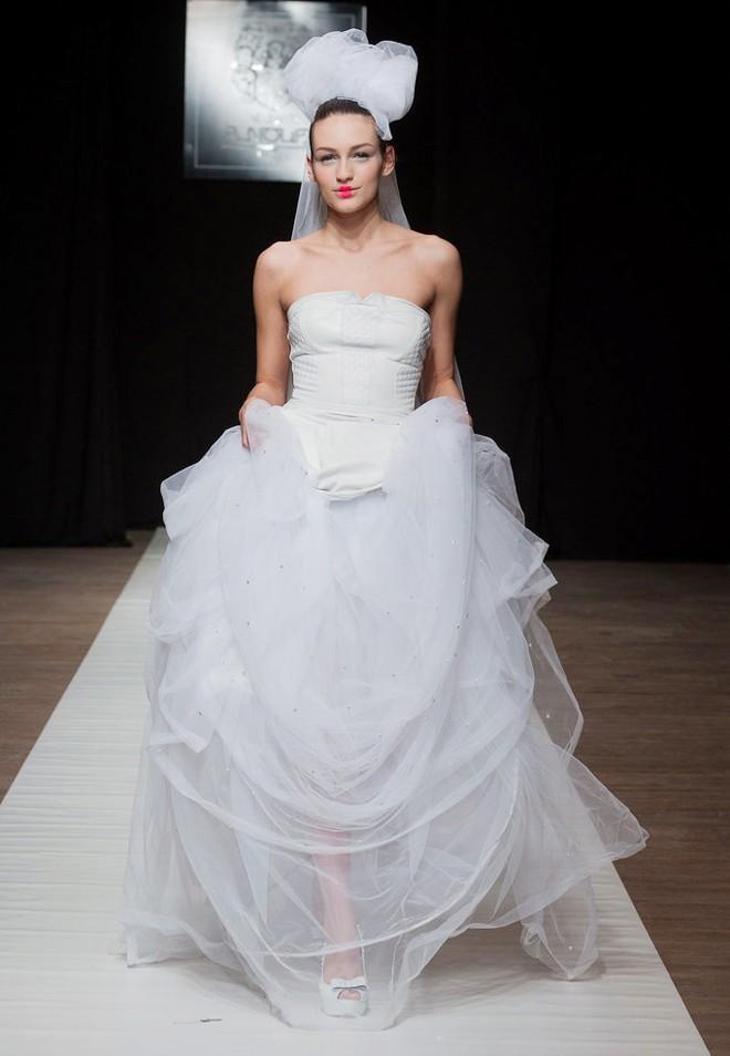 20 mẫu váy cưới đẹp xuân hè 2014