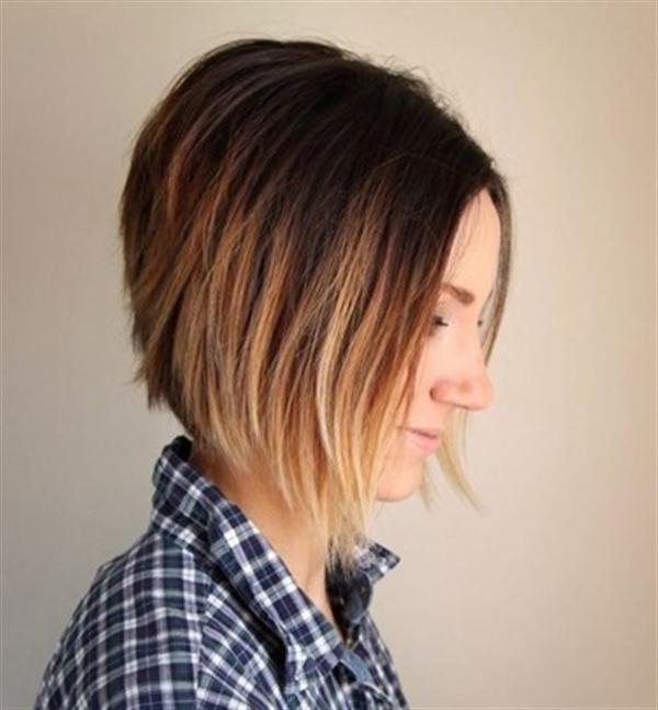 15 kiểu nhuộm ombre cho tóc ngắn cực hot