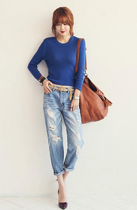 'Chất lừ' với quần jeans dáng thụng - 9