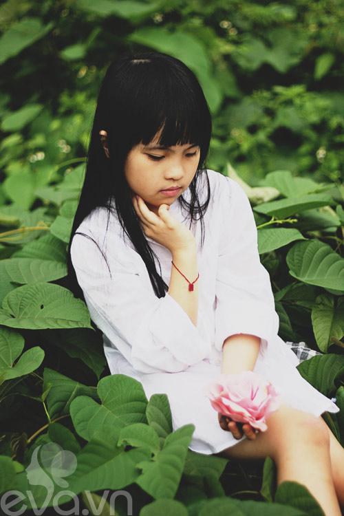 Cô bé lớp 7 có hình trên tạp chí Vogue Ý - 18