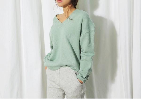 4 màu áo len gam pastel không thể thiếu của mùa đông 9