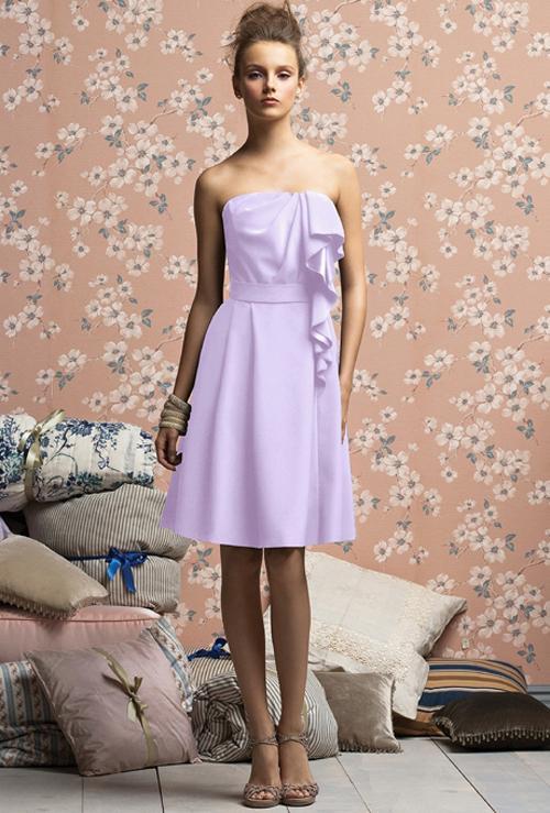 Xu hướng váy phù dâu tone màu pastel 2014 10