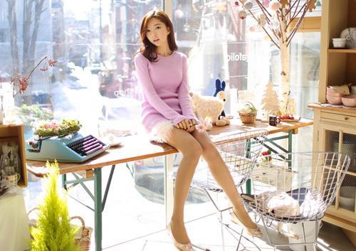 4 màu áo len gam pastel không thể thiếu của mùa đông 17