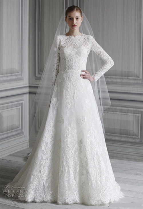Chọn váy cưới đẹp, ấm cho cô dâu mùa đông - 6