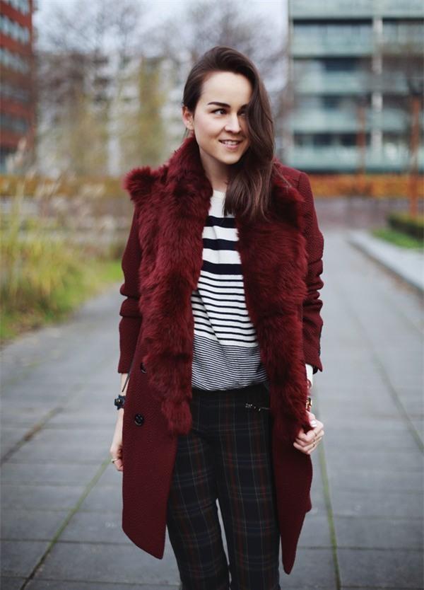 Street style ấm áp và cá tính của châu Âu ngày đầu đông 8