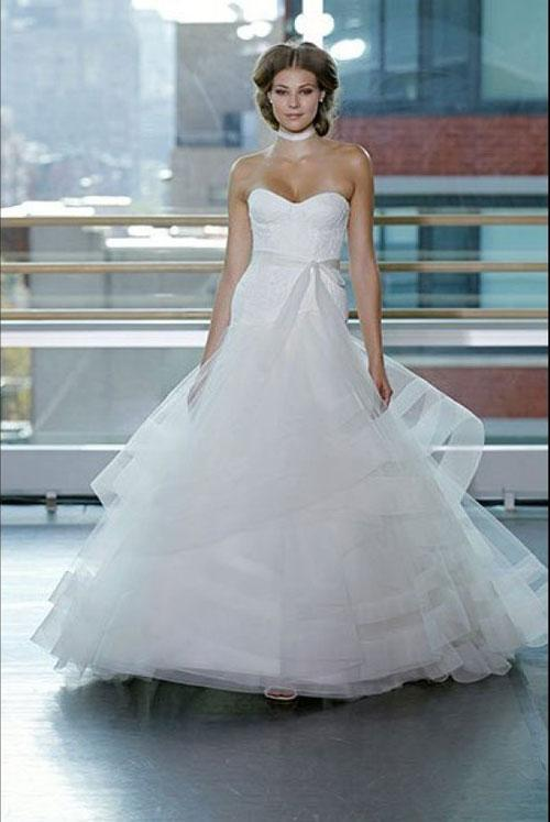 3 phong cách váy cưới cho cô dâu gợi cảm