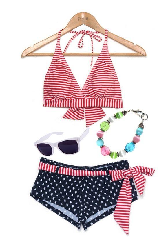 Set đồ đi bơi cho cô gái năng động