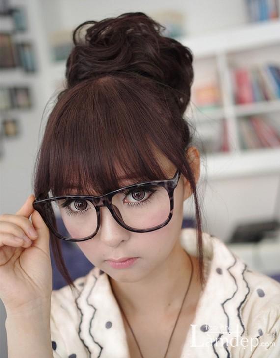 Các kiểu tóc búi đẹp đơn giản và nữ tính