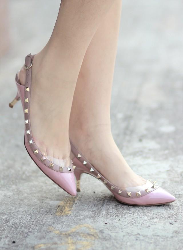 Ngọt ngào như giày hồng xuống phố