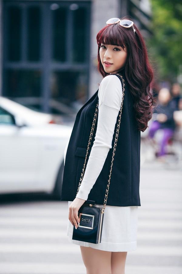 Mặc đồ công sở ấm áp và thời trang cho bà bầu xinh đẹp 22