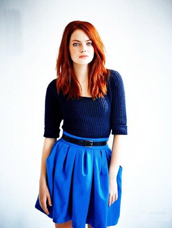 Emma Stone - Nét gợi cảm đằng sau vẻ trong sáng 12