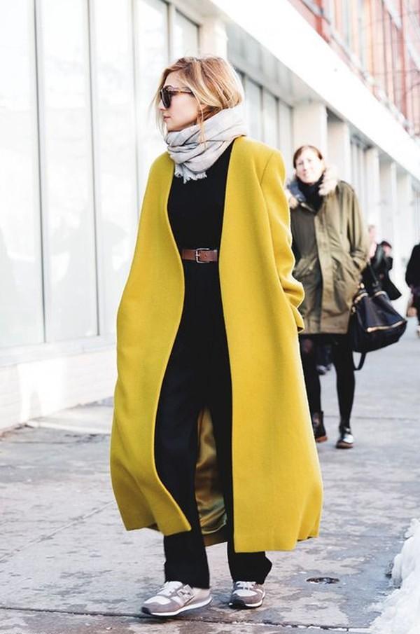 Gợi ý cho quý cô công sở kết hợp áo khoác dạ bớt nhàm chán 20