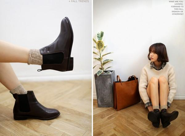 Mix đồ đẹp với quần và ankle boots