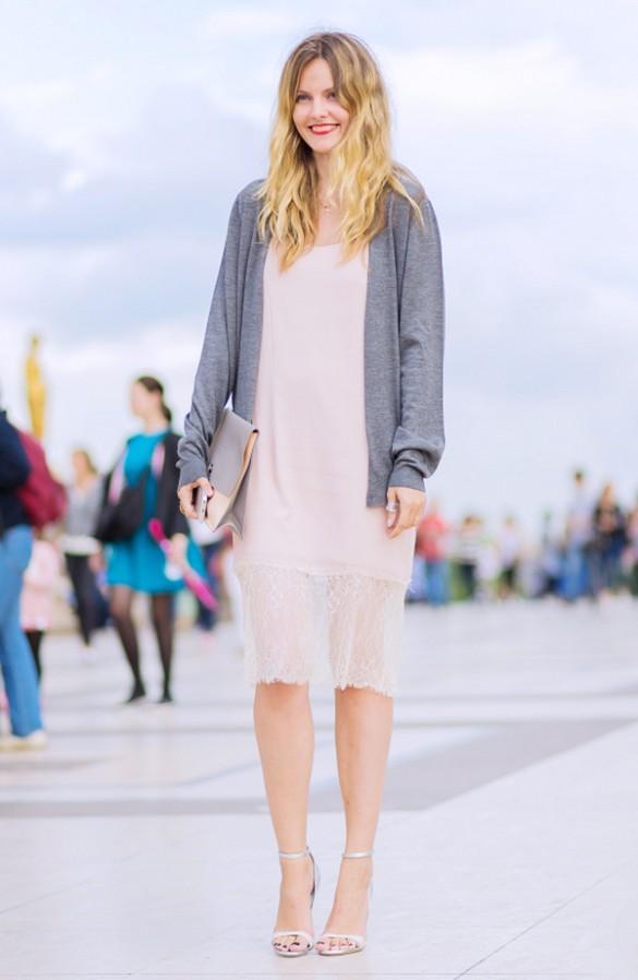 Gợi ý nhiều cách mặc cardigan ngày thu cho phái đẹp 8