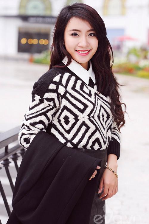 Dễ dàng mặc đẹp mà ấm cùng len oversized - 12