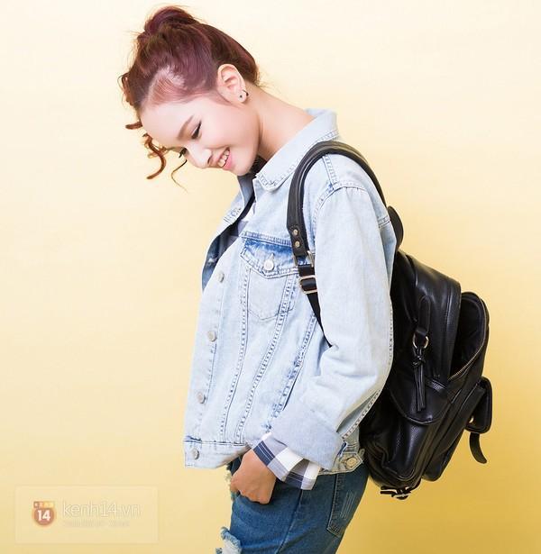 5 cách mix&match cực xinh với denim jacket quen thuộc 10