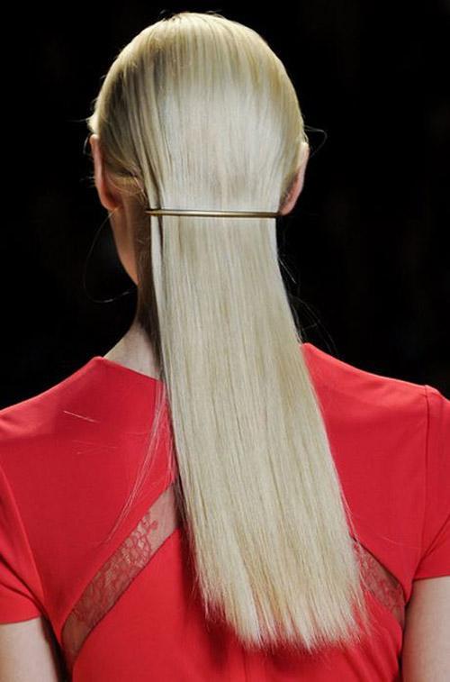 14 mẫu tóc buộc đẹp năm 2014