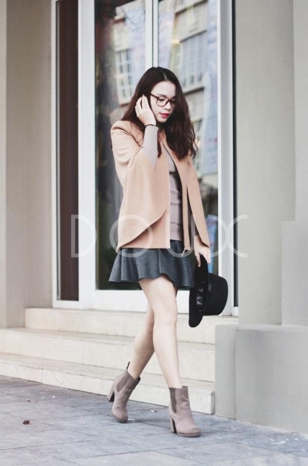 Chọn áo khoác cho nàng công sở đón rét kéo dài 4