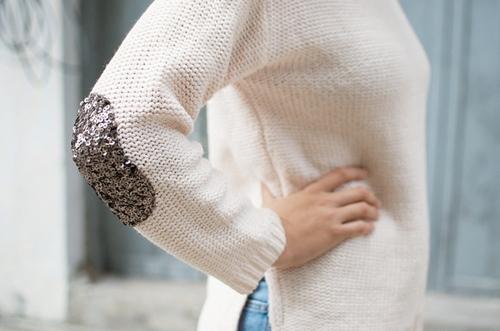 Eva khéo tay: Nhấn nhá áo len cực độc cùng sequin - 1