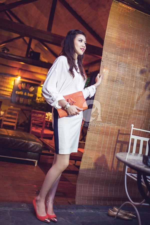 F5 phong cách công sở với chân váy bút chì cho nàng giản dị