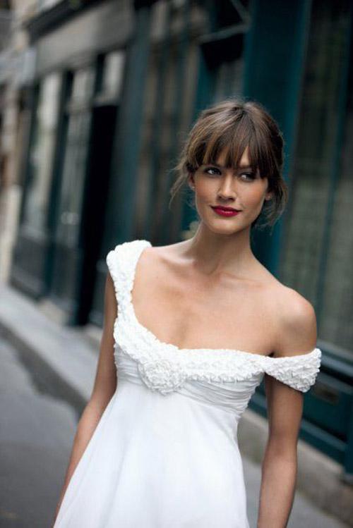 10 váy cưới lý tưởng cho nàng ngực nhỏ, eo to - 1