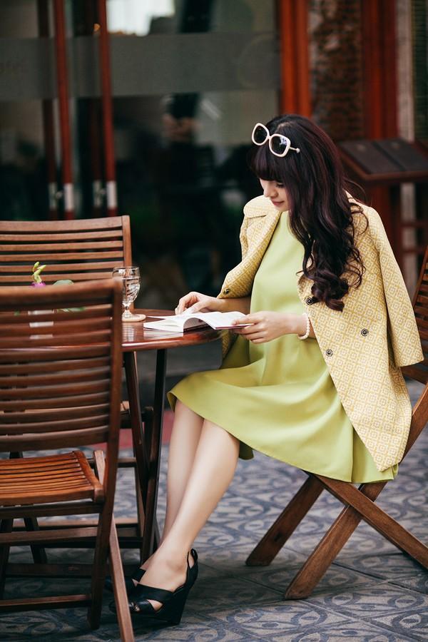 Mặc đồ công sở ấm áp và thời trang cho bà bầu xinh đẹp 5