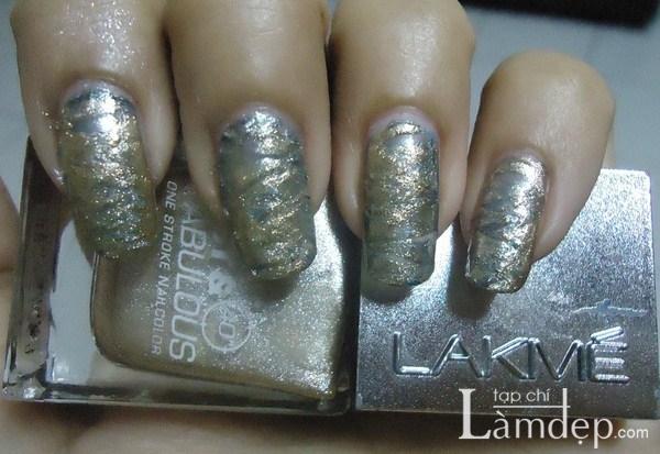 Các mẫu móng màu metallic đẹp nổi bật mùa thu đông 2013