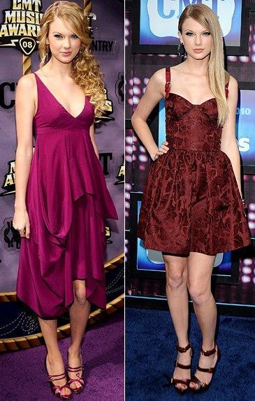 Gu thời trang ngày ấy - bây giờ của Taylor Swift