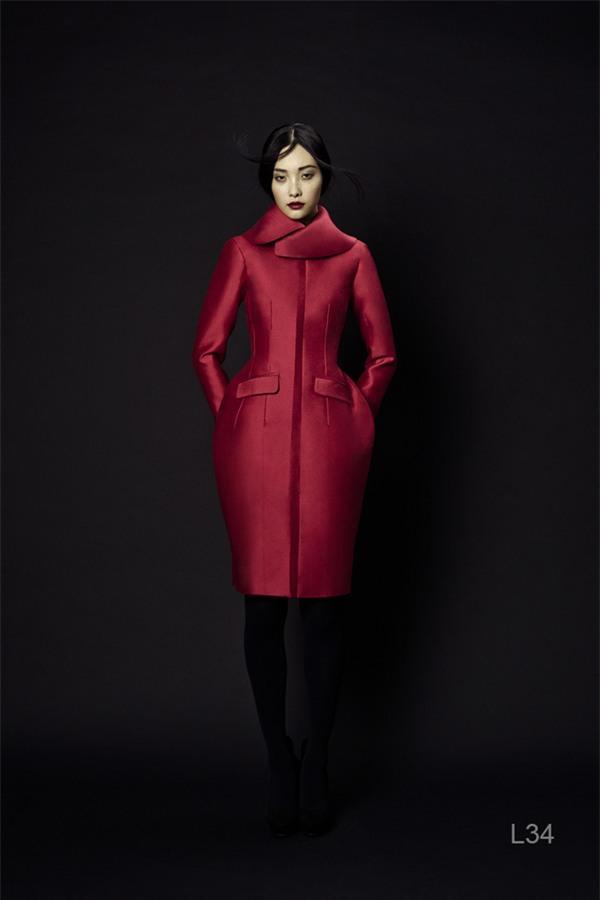 Áo khoác màu nổi làm ấm mùa Noel 2013 3