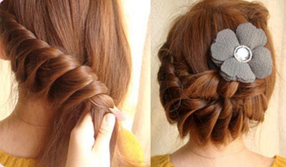 Hướng dẫn cách tết tóc xinh đi dự tiệc mùa hè