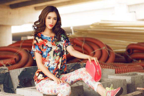 Diện crop top cá tính và tinh nghịch cùng cô nàng Hà Min