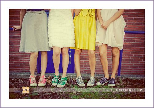 Chút phá cách với Converse và váy ngắn - 5