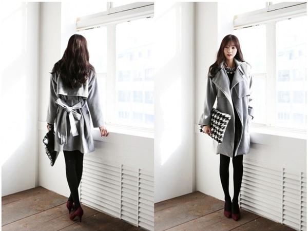 Kết hợp áo khoác vừa ấm, vừa sang cho phái đẹp công sở 9
