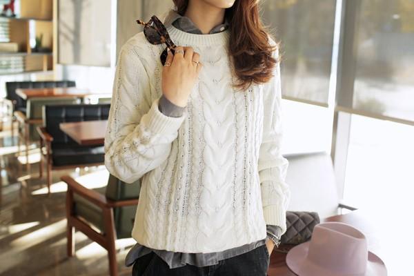 Tư vấn cách chọn và mặc áo len thật chuẩn cho nàng siêu gầy 12
