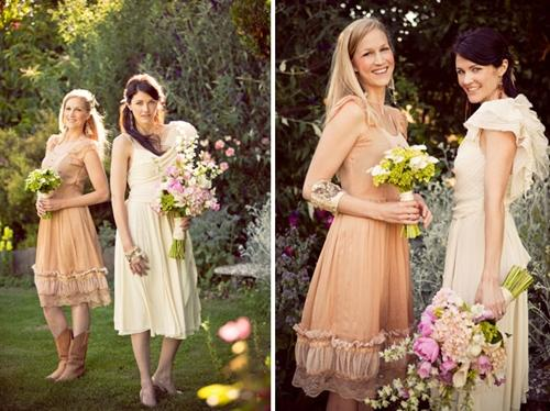 7 gợi ý váy phù dâu thời trang và nhã nhặn 5