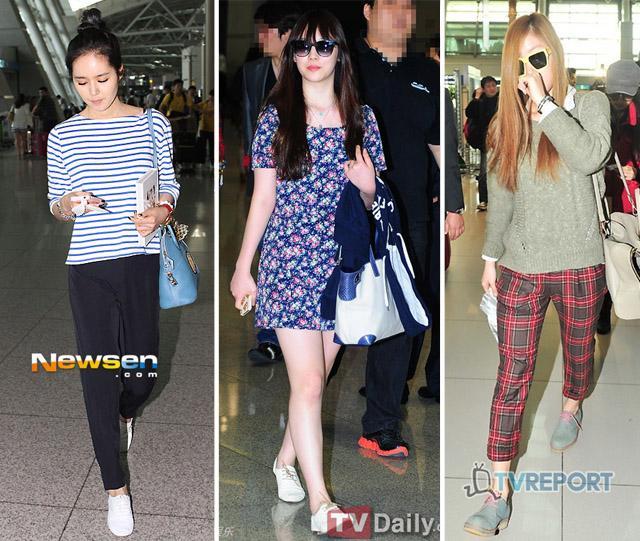 4 mẫu giày đế bệt ưa thích của sao Hàn