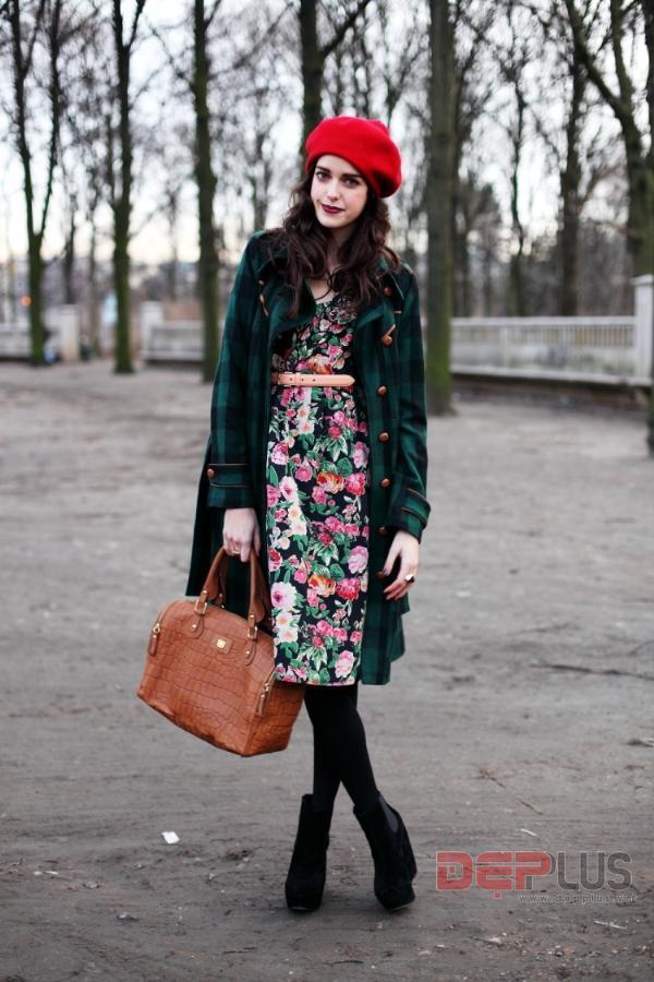 Vintage - gợi ý thú vị cho trang phục xuân