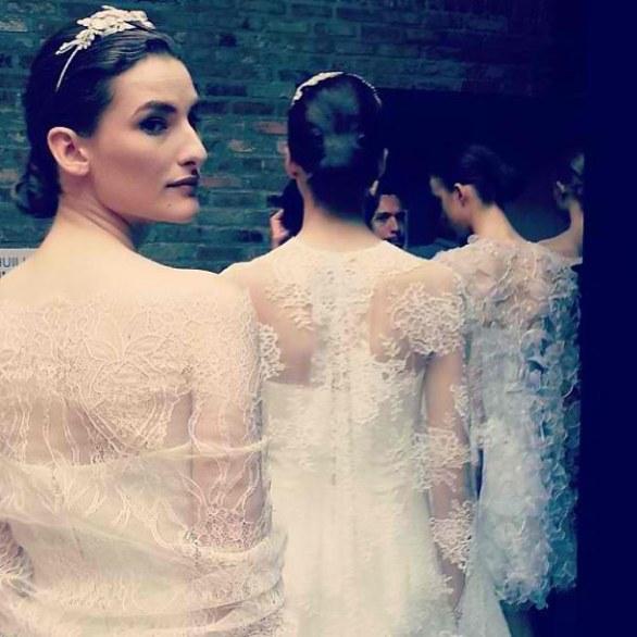 Ấm áp mà vẫn đẹp lộng lẫy với áo khoác cưới mùa đông 2013 20