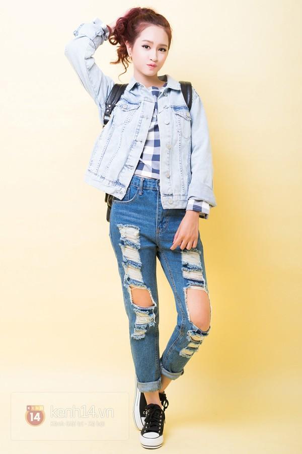 5 cách mix&match cực xinh với denim jacket quen thuộc 11
