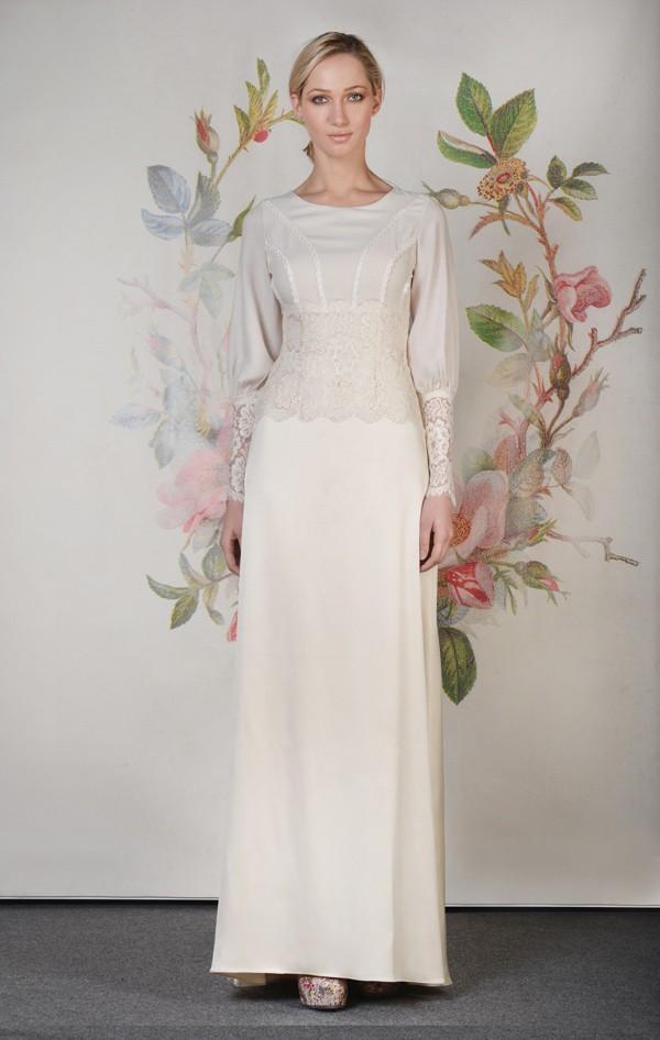 Xu hướng váy cưới dài tay cho mùa đông lạnh giá 20