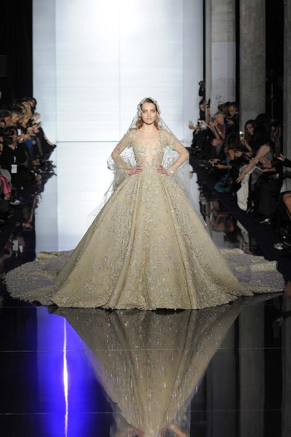Những gợi ý váy cưới tuyệt đẹp từ BST Haute Couture 2015 1